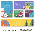 active lifestyle brochure flyer ... | Shutterstock .eps vector #1778147108