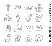 line style icon set design of... | Shutterstock .eps vector #1778148698