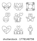 line style icon set design of... | Shutterstock .eps vector #1778148758