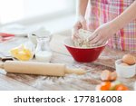cooking and home concept  ... | Shutterstock . vector #177816008