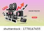 vector illustration of online... | Shutterstock .eps vector #1778167655