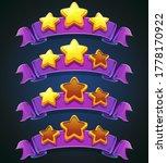 set of raster multi colored... | Shutterstock . vector #1778170922