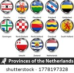 flags of provinces of the... | Shutterstock .eps vector #1778197328