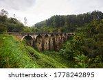 Nine Arches Bridge  Ella  Sri...