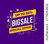 special offer sale background...   Shutterstock .eps vector #1778243822