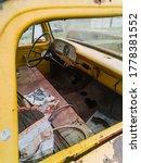 Car Dashboard Abandoned Car...