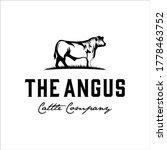 Angus Bull Logo Design With...