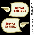 royal enfield tank stickers... | Shutterstock .eps vector #1778469515