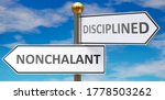 Nonchalant And Disciplined As...