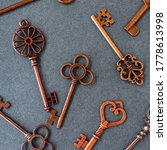 Many Different Old Keys From...
