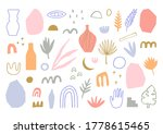 collection of cute hand drawn... | Shutterstock .eps vector #1778615465