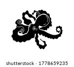 Octopus. Clipart For T Shirt ...