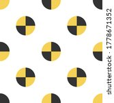 seamless texture of crash test... | Shutterstock .eps vector #1778671352