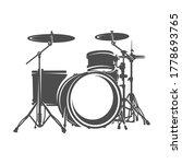 drum design vector. vector...   Shutterstock .eps vector #1778693765