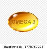 omega 3 acid  yellow gelatin... | Shutterstock .eps vector #1778767025