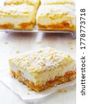 Apricot And Curd Cheese Grated...