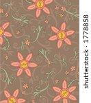 flower background design | Shutterstock .eps vector #1778858