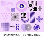 minimal artwork with different... | Shutterstock .eps vector #1778895032