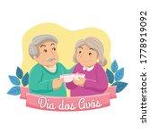 dia dos avos  national...   Shutterstock .eps vector #1778919092
