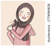 Hijab Girl Show Thump Up ...