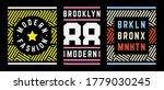 vector retro illustration on... | Shutterstock .eps vector #1779030245