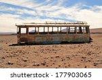 Abandoned Bus In The Desert ...