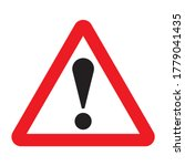 other danger traffic sign.... | Shutterstock .eps vector #1779041435