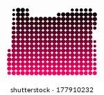 map of oregon | Shutterstock .eps vector #177910232