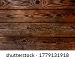 Background Of Old Boards In...