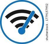 high speed wifi icon wifi icon... | Shutterstock .eps vector #1779157952