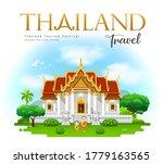 thailand temple  wat...   Shutterstock .eps vector #1779163565