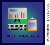 project management icon....