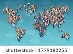 vector of a large group of... | Shutterstock .eps vector #1779182255