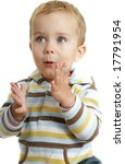 Little Boy Clapping