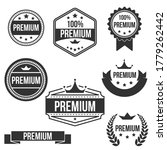 vector vintage set of premium... | Shutterstock .eps vector #1779262442