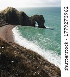 Sunrise At Durdle Door With A...