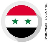 flag of syria  round shape icon ... | Shutterstock .eps vector #1779275708