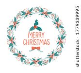 merry christmas and happy new... | Shutterstock .eps vector #1779339995