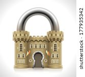 reliable protection at home as... | Shutterstock .eps vector #177935342