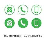 contact us icon vector.  media...