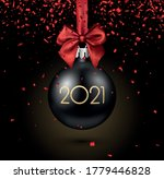 black 3d christmas tree toy... | Shutterstock .eps vector #1779446828