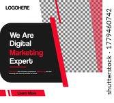 digital marketing design... | Shutterstock .eps vector #1779460742