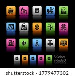 energy icons    colorbox series ...   Shutterstock .eps vector #1779477302