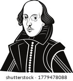 vector william shakespeare... | Shutterstock .eps vector #1779478088