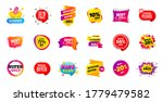 sale banner tags. discount... | Shutterstock .eps vector #1779479582