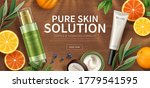 banner ad for natural beauty... | Shutterstock .eps vector #1779541595