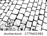 Paving Stones Old Background...