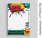 superhero comic magazine front... | Shutterstock .eps vector #1779651728