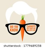 did you know carrots are good... | Shutterstock .eps vector #1779689258