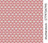 seamless pattern. geometric... | Shutterstock .eps vector #1779734795